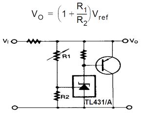 tl431 as high current shunt regulator circuit#3.png